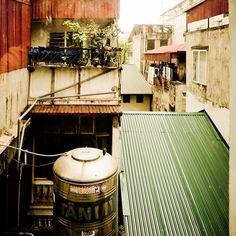 Rooftop living Hanoi.  #hanoi #vietnam #live #explore #discover #city #travel #travelling #twitter #olympus #olympus_au #wow #visitvietnam #asia #cityliving #roof #fun