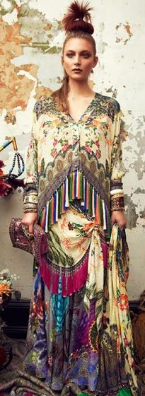 Camilla A/W 2013 The colors and the layering is so beautiful.