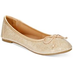 Report Marlee Sparkle Ballet Flats ($30) ❤ liked on Polyvore featuring shoes, flats, gold sparkle mesh, ballet pumps, ballerina pumps, mesh shoes, report shoes and sparkle flat shoes