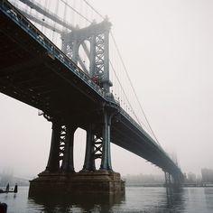 Manhattan Bridge, January 2013
