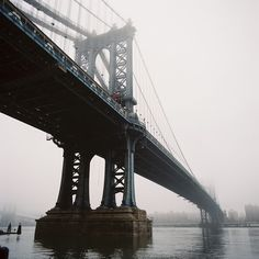 chrisozer:    Manhattan Bridge, January 2013