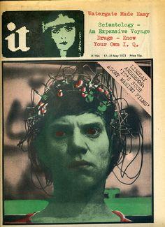 It (like Oz) magazine - 17-31 May 1973 (Scientology/Hawkwind ads/Drugs) | eBay    Love that EEG-cap /Petter