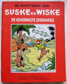 Currently at the Catawiki auctions: Spike and Suzy RV-33 - De geverniste zeerovers - sc - 1st edition (1958)