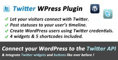 This Deals Twitter Connect and Widgets for WordPressWe provide you all shopping site and all informations in our go to store link. You will see low prices on