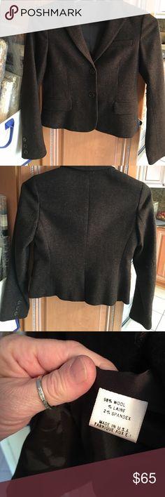 Theory waist blazer Pristine condition chocolate tweed. Theory Jackets & Coats Blazers