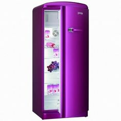 Purple fridge! Unfortunately it does not match my kitchen. :-(
