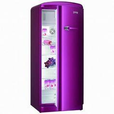 Purple fridge! Unfortunately it does not match my kitchen. :-(
