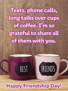 Tulip Happy Friendship Day Card | Birthday & Greeting Cards by Davia Best Friend Mug, Friend Mugs, Best Friends, Happy Friendship Day Card, Friendship Cards, Birthday Greeting Cards, Birthday Greetings, Birthday Cards, Birthday Reminder