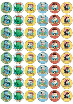 48 3cm Sheriff Callie Edible Rice/Wafer Paper Cupcake/Fairy Cake Toppers   eBay