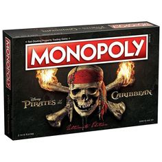 NEW Monopoly Disney Pirates Of The Caribbean Ultimate Edition Board Game #MonopolyDisneyPiratesOfTheCaribbean