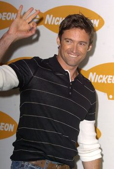I'm just going to come out and say it: Hugh Jackman is incredibly sexy. Whether he's donning Wolverine's signature sideburns or clean-shaven and dressed in a Hugh Michael Jackman, Hugh Jackman, Australian People, Clean Shaven, Celebrity Crush, Movie Stars, Actors & Actresses, Polo Ralph Lauren