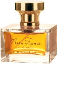 Marie-France Eau de Parfum  Nutrimetics signature fragrance. A woody oriental fragrance that celebrates the spirit of every woman with a Ylang Ylang top note over a Sandalwood and Patchouli heart and a feminine Bourbon Vanilla and White Musk base. Ingredients: Top notes: Ylang Ylang Middle notes: Sandalwood, Patchouli Base notes: Bourbon Vanilla, White Musk Fragrance