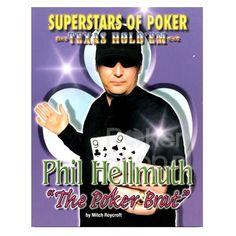 "Superstars of Poker Texas Hold'em, Phil Hellmuth ""The Poker Brat"" by Mitch Roycroft"