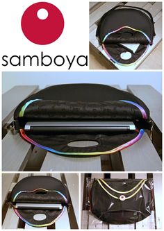 Maya bag by Samboya is XXL size which fits your laptop.
