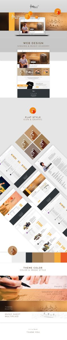 """Check out my @Behance project: """"4Voize -Web design"""" https://www.behance.net/gallery/53531653/4Voize-Web-design"""