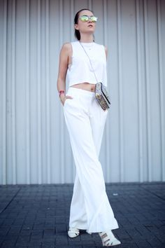 Pants: ZARA  |  Shoes: Senso  |  Top: ASOS  |  Bag: Limited edition Neri Karra bag  |  Gold bracelet: FashionSquad for Cooee. By Andy