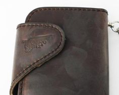 Rakuten: Postage, collect on delivery fee free of charge authorized agent RED WING redwing 960-2107-24 long wallet wallet Horween Leather Ho Win leather chocolate- Shopping Japanese products from Japan