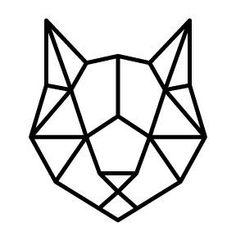 Discover recipes, home ideas, style inspiration and other ideas to try. Geometric Cat, Geometric Drawing, Geometric Designs, Geometric Shapes, Cool Art Drawings, Pencil Art Drawings, Easy Drawings, Animal Drawings, Cat Drawing