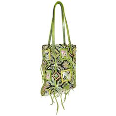 Fendi Fabulous BOHO  Hand embroidered and beaded bag.