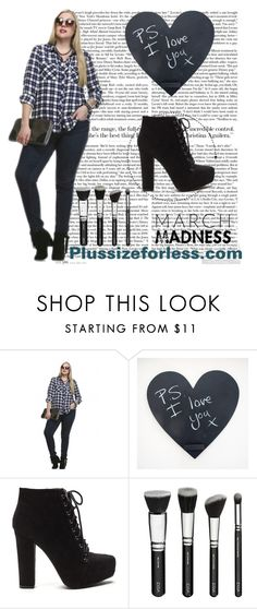 """Plussizeforless (3) - 8/10"" by mersida-1 ❤ liked on Polyvore"