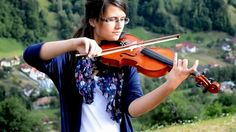 """""""Nearer My God to Thee"""" ( 4 violin adaptation ) by Elida Surducan"""