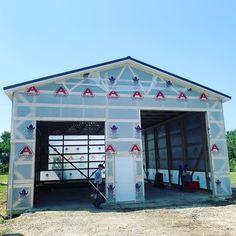 34x54 under construction in Fremont, Ohio. Under Construction, Ohio, Barn, Loft, Outdoor Decor, Home Decor, Columbus Ohio, Converted Barn, Decoration Home