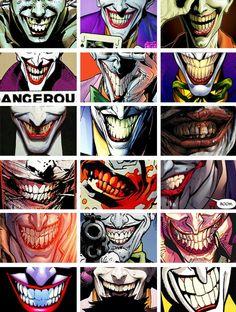 The Joker's smile