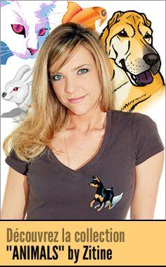 Zitine - Vente de tee shirts pour les passionnés d'animaux