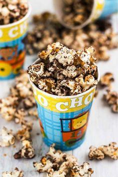 Vegan Sea Salt Chocolate Popcorn ift.tt/2lYQUpo