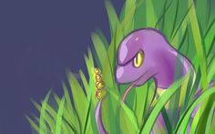 I challenged myself to draw the entire Pokedex! Today I hit, so I thought I'd share! - Imgur Ekans Pokemon, Gotta Catch Them All, Challenge Me, Trending Memes, Tinkerbell, Tweety, Funny Jokes, Disney Characters, Fictional Characters