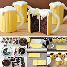 Baileys Beer Mug Cupcakes