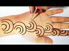 Friends, In Today Mehndi video, I am going to show you a very simple and easy mehndi trick from letter c which you ca. Simple Arabic Mehndi Designs, Indian Mehndi Designs, Wedding Mehndi Designs, Mehndi Simple, Beautiful Mehndi Design, Latest Mehndi Designs, Mehndi Images, Dubai Mehendi Designs, Easy Mehendi