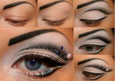 Try out this intense and fun look for a girls night out! Get your makeup at Beauty.com.