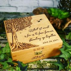 Wood Burning Crafts, Wood Burning Patterns, Wood Burning Art, Jewelry Box Plans, Wood Burning Techniques, Rustic Wedding Gifts, Prayer Box, Christmas Wood, Wood Cutting