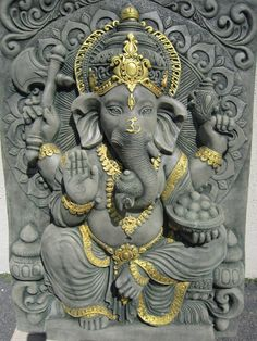 I will remove all obstacles. Arte Ganesha, Shri Ganesh, Hanuman, Lord Ganesha Paintings, Lord Shiva Painting, Ganesha Drawing, Ganesha Pictures, Ganesh Images, Ganesha Tattoo Lotus