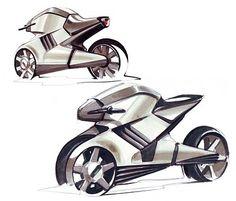 Bike concept sketch