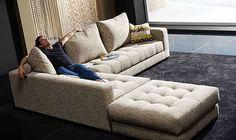 Morellia Corner Sofa 3 x 1 with Large Footstool