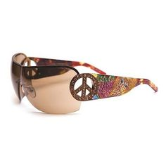 871694c3f28c Maintain your cool and hip look with these Ed Hardy Pin Graphics Tortoise  Brown  Sunglasses. These sunglasses showcase rectangle frames.