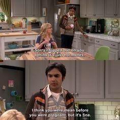 The Big Bang Theory - The Dependence Transcendence Big Bang Theory Quotes, The Big Theory, Big Bang Theory Funny, Tv Memes, Memes Humor, Big Bang Theory Zitate, Friday Humor, Funny Friday, Tv Quotes