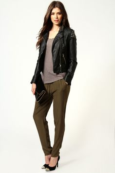 Sienna CDC Silky Effect Elasticated Waist Trousers £20 >> http://www.boohoo.com/trousers/sienna-cdc-silky-effect-elasticated-waist-trousers/invt/azz55768