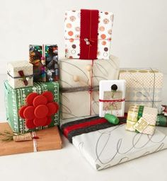 Love the wrapping ideas !!