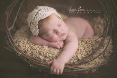 Newborn Photo Prop Newborn Headscarf by CastAwayCollection on Etsy, $15.00