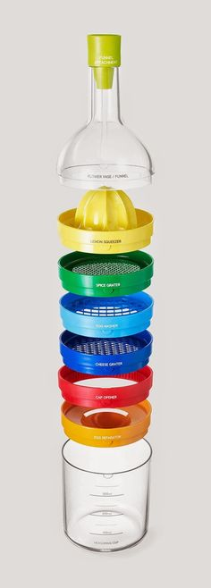 All your kitchen necessities in one cute storage case!