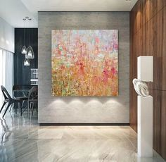 Large Abstract Wall Art Paintings for Living Room, Hand Painted Acrylic Paintings – Silvia Home Craft Room Wall Painting, Hand Painting Art, Acrylic Painting Canvas, Painted Canvas, Hand Painted, Canvas Art, Large Paintings For Sale, Easy Paintings, Paintings Online