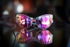 Stunning colors on the new Cyber 2 sunglasse by Parasite Eyewear