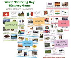 Games to Learn: Girl Scout World Thinking Day – February 22nd When planning your World Thinking Day event you may choose to find countries where Girl Guiding/ Girl Scouting exists. Learn a game, song, craft, recipe, or activity unique to those countries and share it with girls. Another idea is to learn more about the 5 …