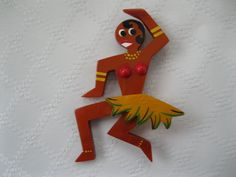Josephine Baker Galalith Pin By French Designer Pavone