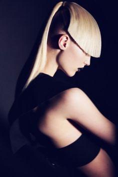 oliver stalmans, future fashion, futuristic style, unique hairstyle, hair, green hair, future punk, futuristic look, model, fashion girl by ...
