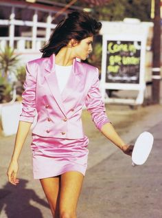 'In the Pink' from……………..Vogue April 1991 feat Stephanie Seymour