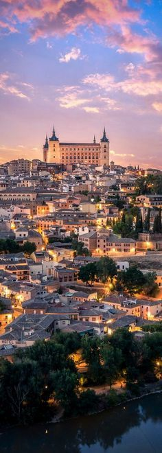 The Alcázar of Toledo, Spain. I loved Toledo, such a lovely city Places Around The World, Travel Around The World, Around The Worlds, Places To Travel, Places To See, Travel Destinations, Wonderful Places, Beautiful Places, Barcelona